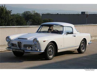 brugt Alfa Romeo 2600 SpiderTouring Hard Top - Borran
