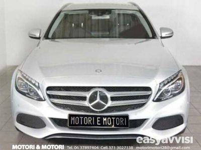 second-hand Mercedes C220 d s.w. auto sport navi, pdc, automatica diesel
