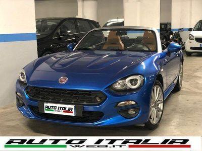 gebraucht Fiat 124 Spider 1.4 MultiAir LUSSO#PELLETABACCO#LED#SCHERMOTOUCH