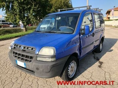 usata Fiat Doblò 1.9 diesel Combi 5 POSTI AUTOCARRO