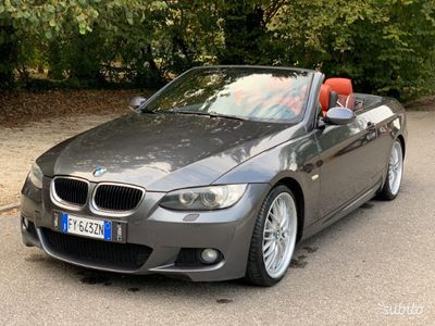 usata BMW 320 Cabriolet d pacchetto M extra full navi pelle