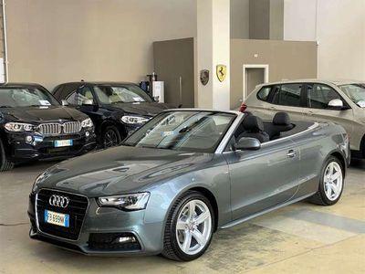 "usata Audi A5 Cabriolet 2.0 TDI 177 CV Multitronic S line - 18"""