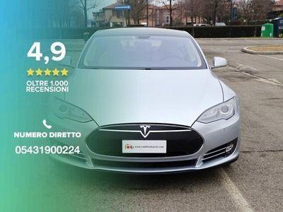 """usata Tesla Model S P 85 - Tech Pack 19"""" Carbonio"""