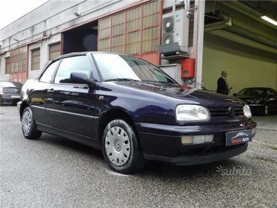 usata VW Golf Cabriolet 1.6 cat Avantgard - 1995