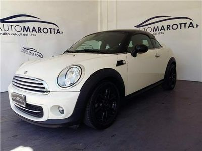 used Mini Cooper Coupé introvabile da vetrina