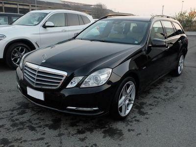 usata Mercedes E250 Classe E Classe E-212 SW Dieselcdi BE Elegance Plus 4matic auto
