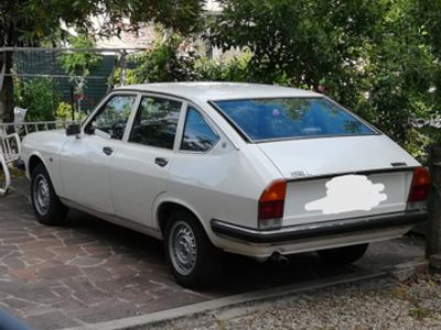 used Lancia Beta berlina bianca