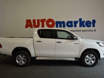 gebraucht Toyota HiLux 2.4 D-4D A/T 4WD 4 porte Double Ca