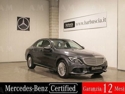 usata Mercedes C250 Classe C (W/S205)d 4Matic Automatic Exclusive