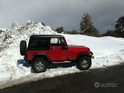 usata Jeep Wrangler yj 2.5 121 cv