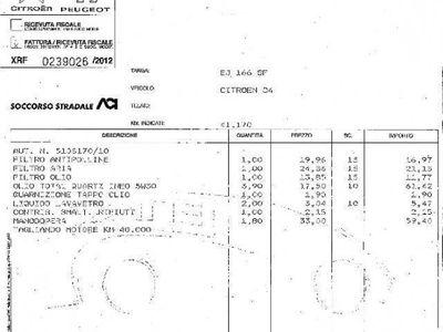 usata Citroën C4 1.6 HDi 110CV FAP VAN Seduction (2 posti) rif. 7236391