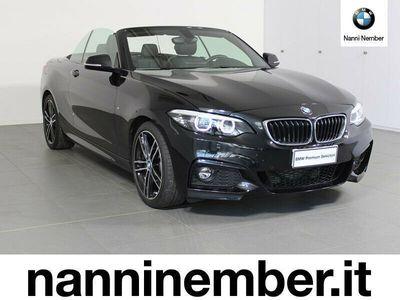 usata BMW 220 d Cabrio Msport M sport