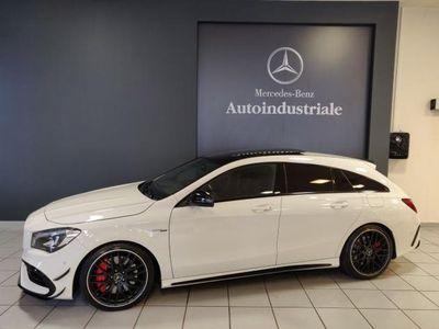 """usata Mercedes CLA45 AMG CLASB 4MATIC """"PERFORMANCE/TETTO/CAMERA/LED/LEGA DA 19"""""""