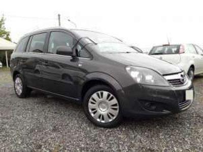 usata Opel Zafira 1.6 16V ecoM 150CV Turbo METANO 7 POSTI Benzina/Metano