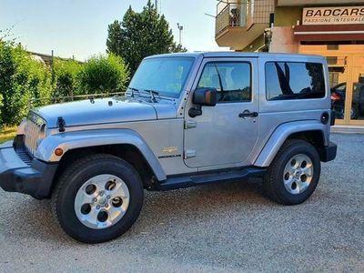 usata Jeep Wrangler Wrangler2.8 CRD Sahara Auto IN PERFEZIONE MASSIMA