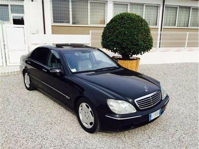 usata Mercedes S600 LUNGA TUTTI GLI OPTIONAL A LISTINO M B