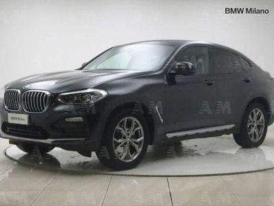 usata BMW X4 xDrive20d Xline del 2019 usata a Milano