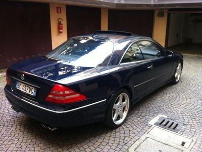 używany Mercedes CL500 cat