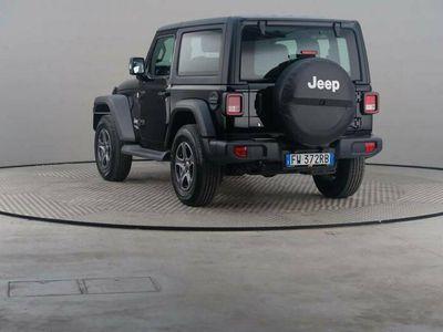 usata Jeep Wrangler 2.2 Multijet Ii Sport Auto 4wd