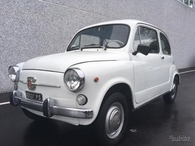 second-hand Fiat 600D Fanalone 1967