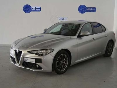 usata Alfa Romeo Giulia 2.2 Turbodiesel 136 CV AT8 Super-Pelle-Navigatore