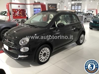 begagnad Fiat 500C 500C1.2 69 Cv Lounge Euro 6d-Temp