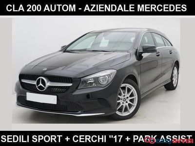 "begagnad Mercedes CLA200 d s.w. automatic +navi+""17 sport +sedili premium diesel"
