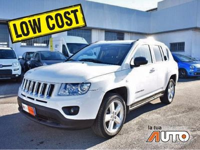 brugt Jeep Compass 2.2 CRD LIMITED
