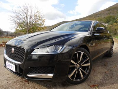 usata Jaguar XF 2.0 D 180cv aut. Pure Business.Navi.Bl