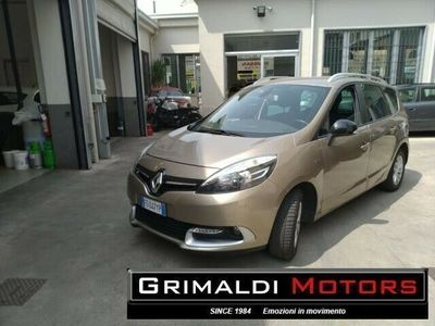 usata Renault Grand Scénic DCI 8V 110 CV EDC limited km 54000 7 posti