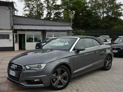 usata Audi A3 Cabriolet 1.4 TFSI 125 CV S tronic - S-Line - Full -