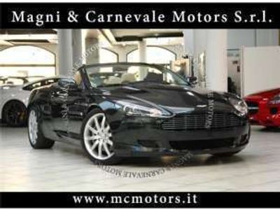 usata Aston Martin DB9 volante - metallic green crono service xeno benzina