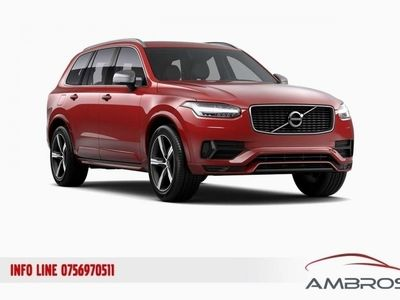 brugt Volvo XC90 R-Design D5 AWD Geatronic 7 po