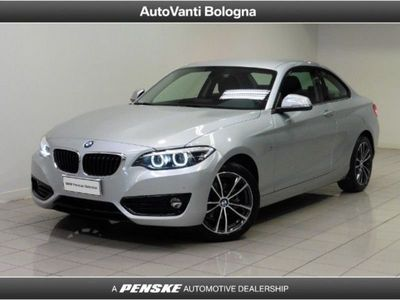 used BMW 218 d Coupé Sport