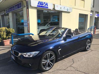 usata BMW 420 Serie 4 Cabrio Msport Airscarf full Optional