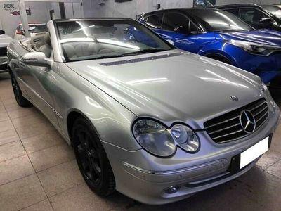 usata Mercedes CLK200 AVANTGUARD 163CV TURBO KOMPR CABRIO COUPE