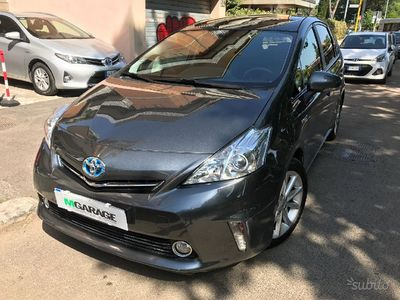 usata Toyota Prius+ 1.8 hybrid lounge rate e permute