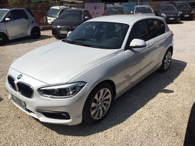 usata BMW 118 118 d 5p. Sport bianco perla