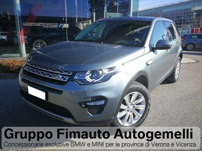 begagnad Land Rover Discovery Sport 2.0 TD4 HSE Aut.