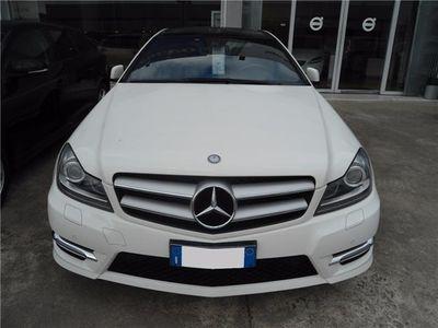usata Mercedes C220 CDI BlueEFFICIENCY Coupé Executive Aut