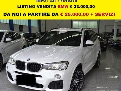 usata BMW X3 2.0 tdi aut m sport varie dirigenziali uff