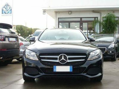 usata Mercedes C200 d S.W. Autom Business - Navig + Cruise + Pre-Crash