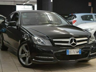usata Mercedes C220 CDI BlueEFFICIENCY Coupé Avantgarde (ium) EG741WN