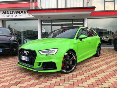 usata Audi RS3 SPB 2.5 TFSI QUATTRO/TETTO/VIRTUAL/R19/KEYLESS