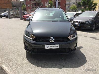 usata VW Golf Sportsvan 1.6 TDI Trendline Blue