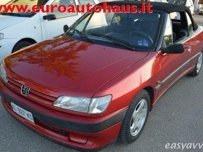 used Peugeot 306 Cabriolet 1.8i cat **capote elettrica** benzina