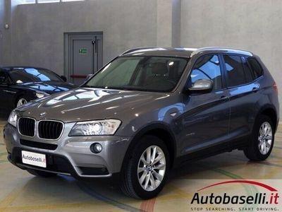 usata BMW X3 XDRIVE 20D FUTURA AUTOMATICA 4X4