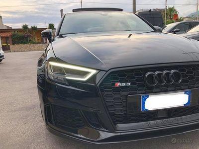 usata Audi RS3 2.5 tfsi 400 cv - total black-tetto-full