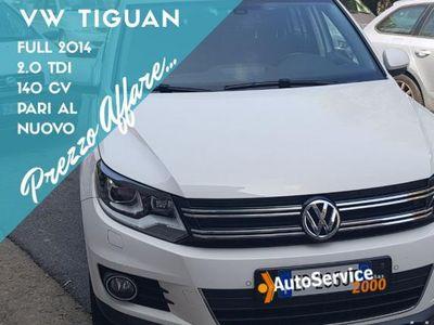 brugt VW Tiguan 2.0 tdi 110 cv km