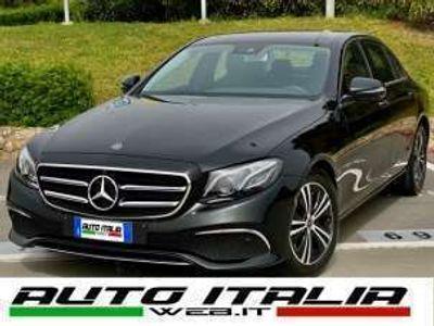 usata Mercedes E200 AUTO SPORT +CAMERA 360+PELLE+MBUX+NAVI+CARPLAY Diesel